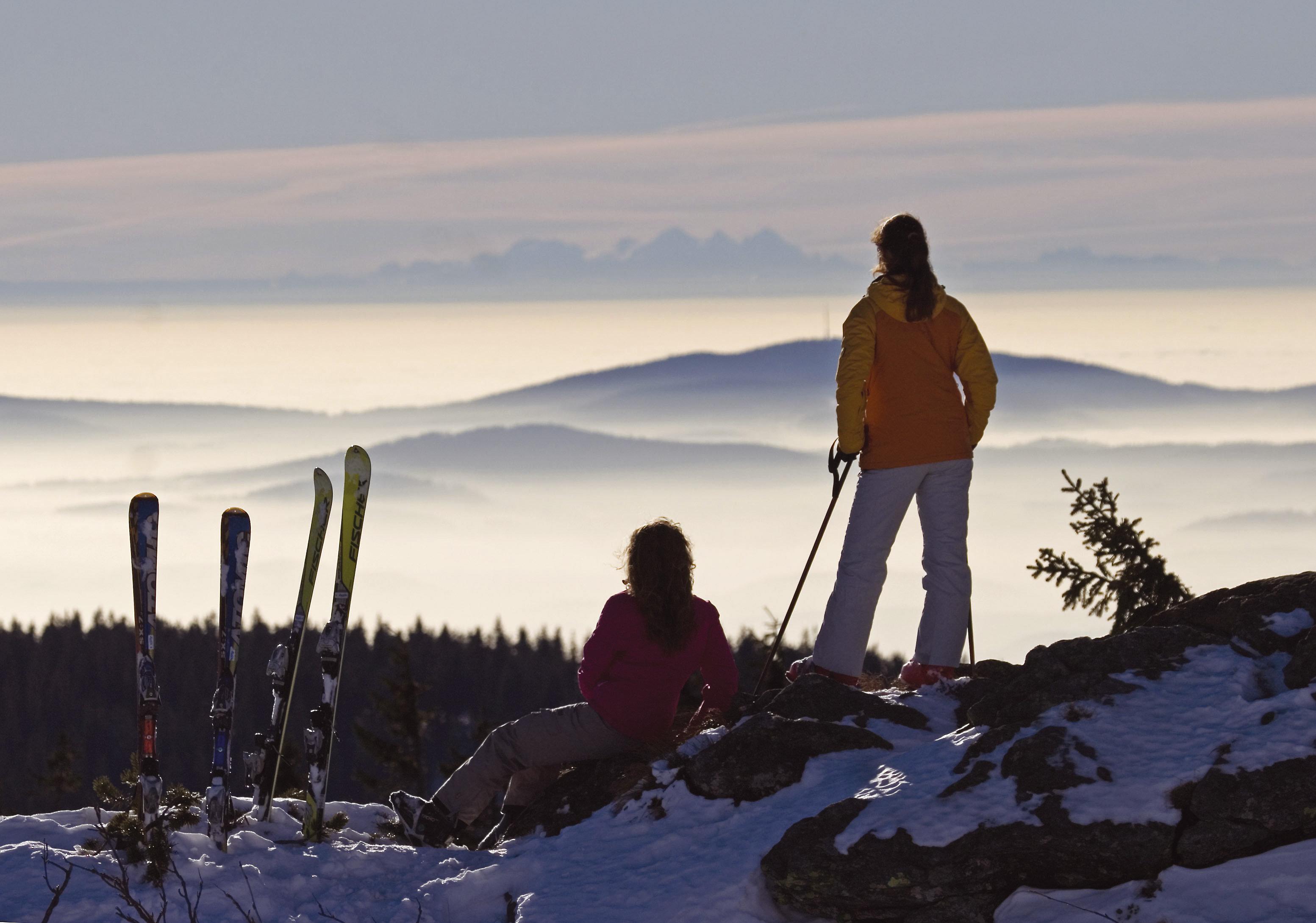 Ski alpin am Großen Arber