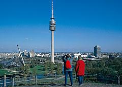 Hauptstadt München in Bayern
