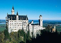 Märchenschloss Neuschwanstein in Bayern