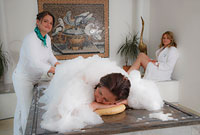 Hamam-Massage im Beautyschlössl Bayerischer Wald