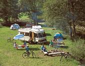 Campingurlaub im Sommer