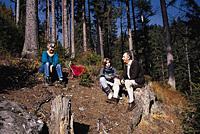 Wandern am Brotjacklriegel im Wanderurlaub im Bayerischen Wald.