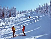 Skigebiet Dreisessel im Bayerischen Wald