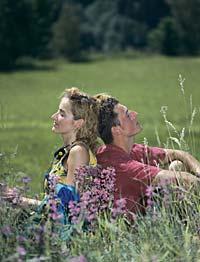 romantische Flittertage im Bayerischen Wald. Hochzeitsreise Bayern