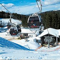 Winterurlaub am Großen Arber im Bayerischen Wald Ferienhotel Rieder Eck
