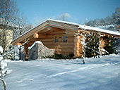 Sauna Wellnesshotel Lindenwirt Winter