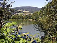 Naturbadesee Freudensee im Bayerischen Wald