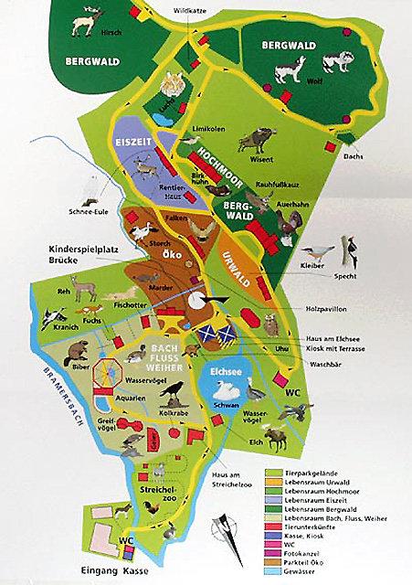 Nationalpark Bayerischer Wald Karte.Bayerwald Tierpark Lohberg Tiergarten In Bayern Apartmenthotel Und
